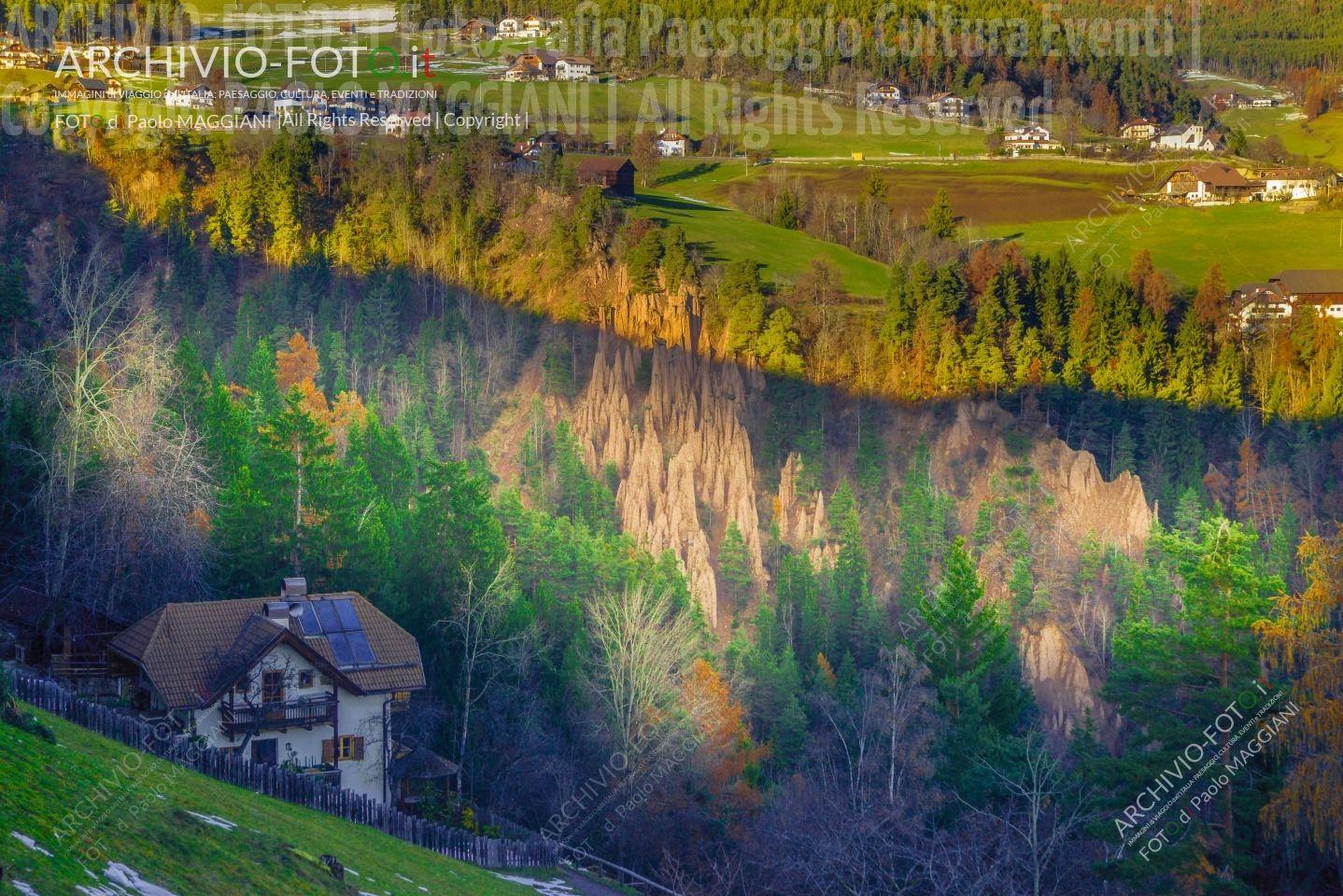 Bolzano, Altopiano del Renon, piramidi di terra, Longomosso