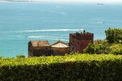 Alpi Apuane, Castello Fabricotti, Marina di Carrara, Monte Marcello, mare, monastero, porto, Monastero Santa Croce