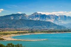 Alpi Apuane, Fiume Magra, Monte Marcello, Monte Sagro, Santa Lucia, collina