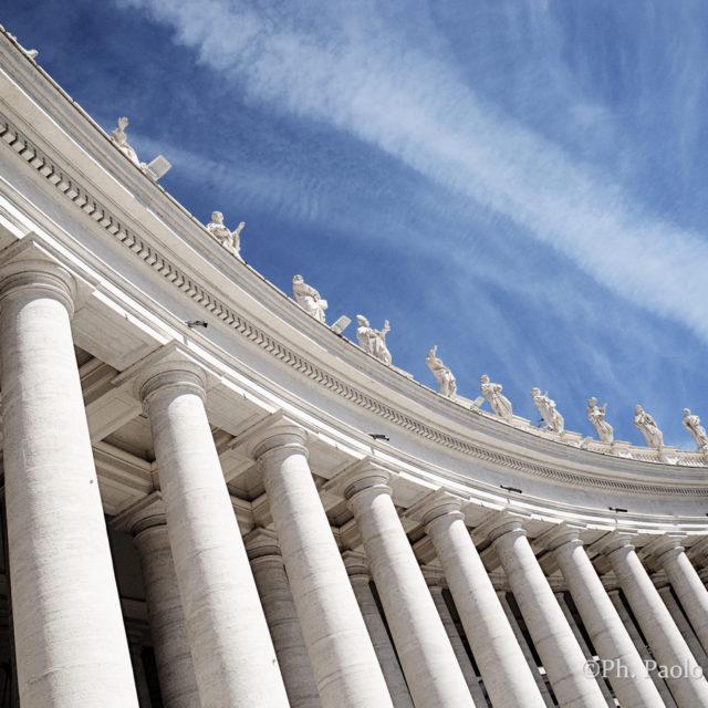 Colonnati di Piazza San Pietro, Vaticano, Roma