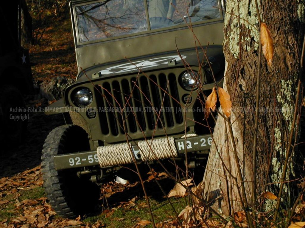 Willy, the jeep from U.S.A.