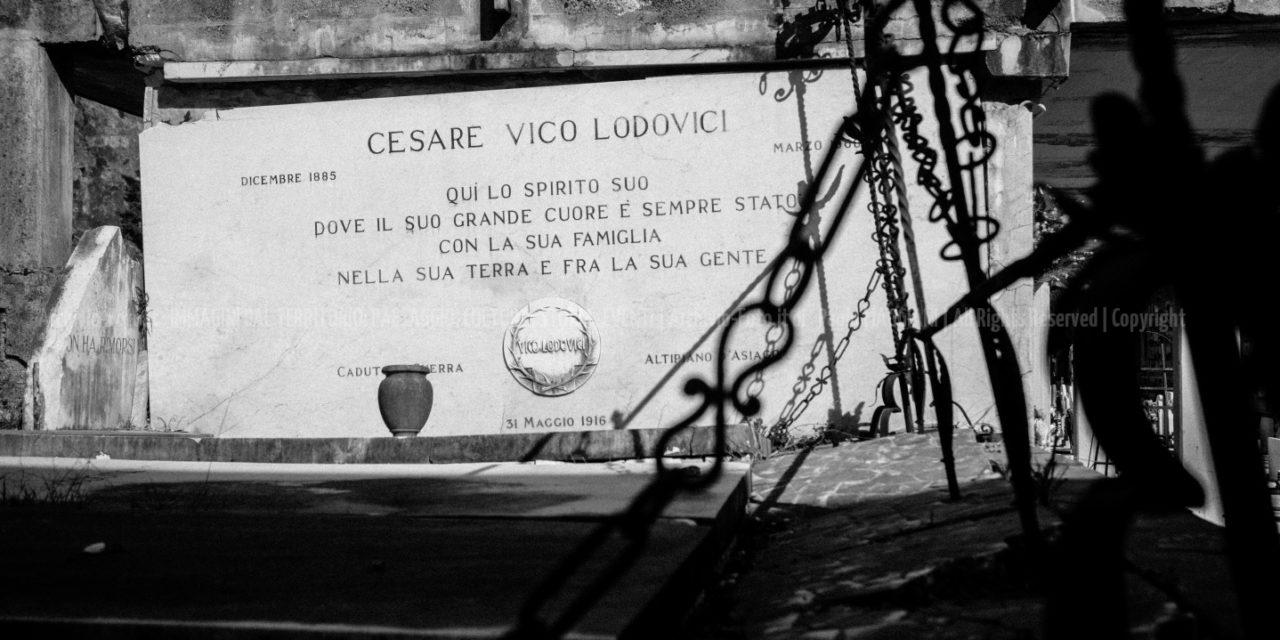 Cesare Vico Lodovici  traduttore di William Shakespeare_Cimitero Marcognano