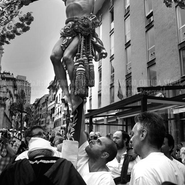 Genova 24 giugno San Giovanni Battista B&W